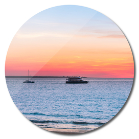 Sunset at the Beach in Darwin, Australia