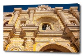 Architectural Details of La Merced Church-Antigua, Guatemala
