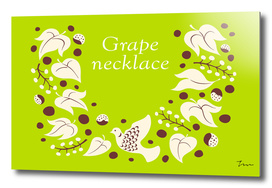 Grape necklace