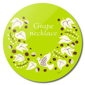 Grape necklace