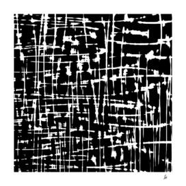Abstract Black & White Artwork
