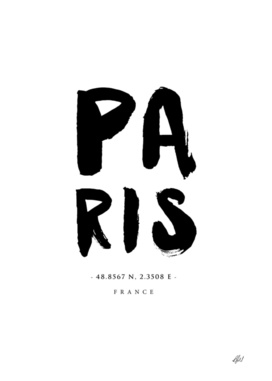 Paris Location Print