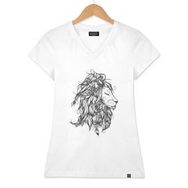 Poetic Lion B&W