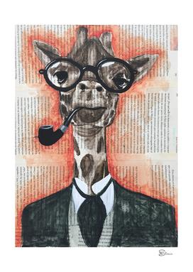 giraffe gentleman