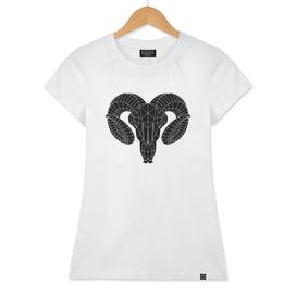Goat Skull  / Black version
