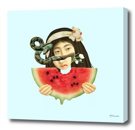 Japanese watermelon