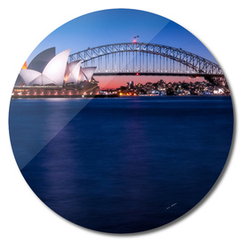 Postcard of Sydney Waterfront