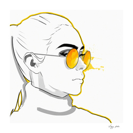 Yellow spectacles