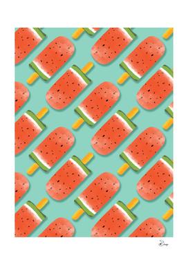 Watermelon Popsicles Pattern