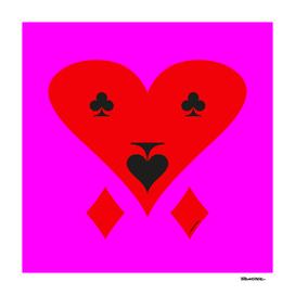 L O V E by Frankenberg - Pink