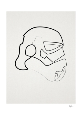 One Line Storm Trooper