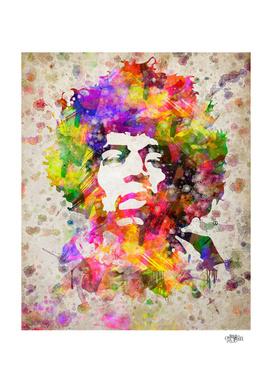 Jimi Hendrix in Color