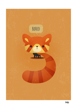 Little Furry Friends - Red Panda