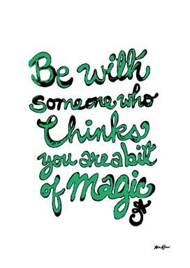 Be With Someone Who is Not Envious