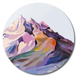 Serene Mountains Landscape