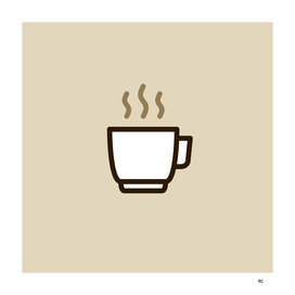 Coffee - Icon Prints: Drinks Series