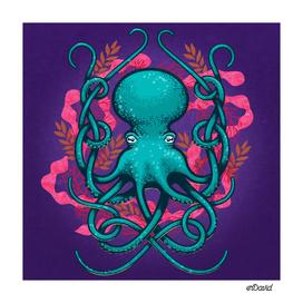 Octupus and Coral