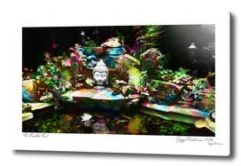 Buddha Pond 2016 (Colour Glitch Edition)
