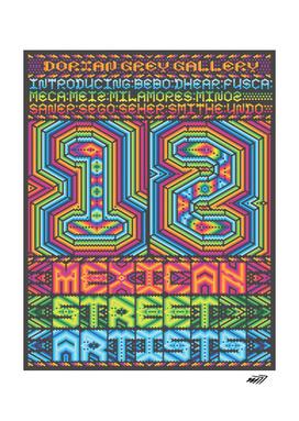 UNDO   12 Mexican Street Artists