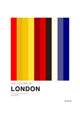 The colors of London