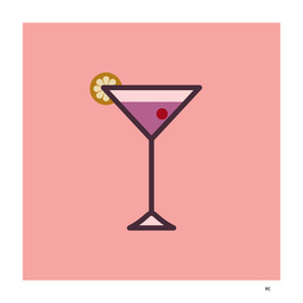 Cocktail - Icon Prints: Drinks Series