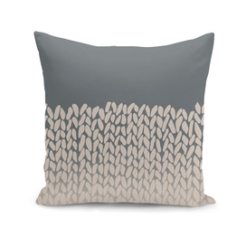 Half Knit Natural Ombre