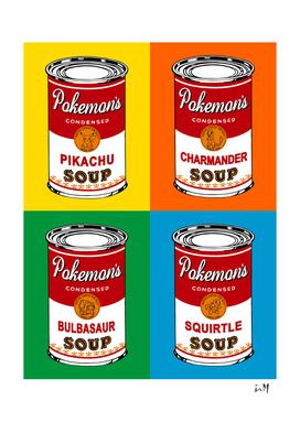 Pop Soup Cans