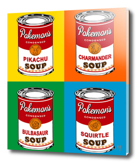 Pop Soup Cans