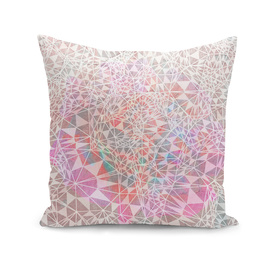 Geo Batik Pattern - Pink