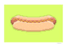 Pixel Hot Dog