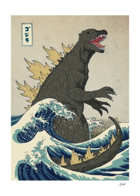 The Great Godzilla Off Kanagawa