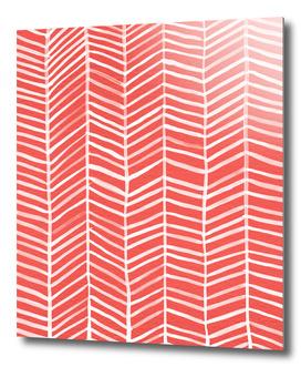 Herringbone (Coral)