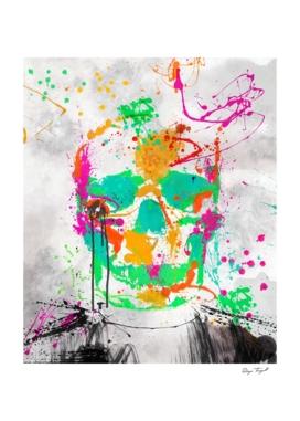 Dead Color Skull 2