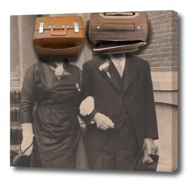 A match (luggage)