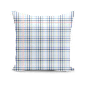 Dotted Grid Blue and Red