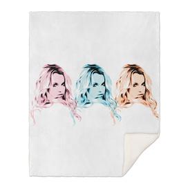 Britney Spears   3   Pop Art