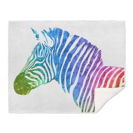 Zebra   Rainbow Series   Pop Art