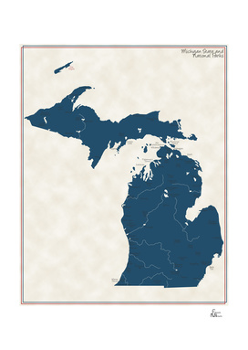 Michigan Parks - v2