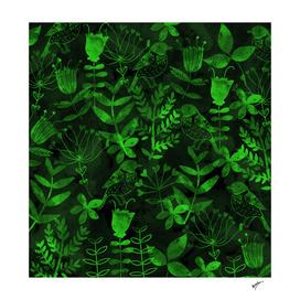 Abstract Botanical Garden III