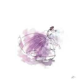 The Purple Lady