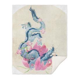 Dragon and Lotus Flower