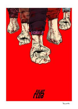 Fight Club blood fist