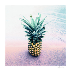 Pineapple on the beach II
