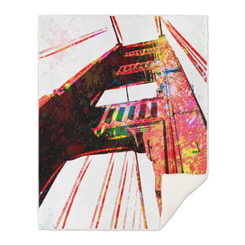Golden Gate Bridge   Pop Art