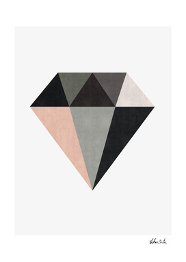 Geometric and minimalist diamond