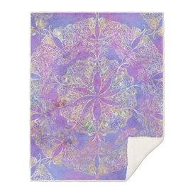Mandala Gold Purple