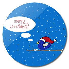 Merry Christmas Bird
