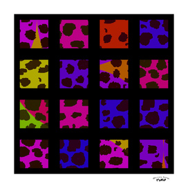 Pop Art Leopard Tiles