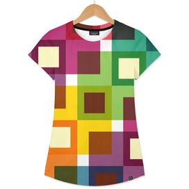 Geometric Pattern #11 (Colorful squares)