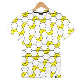 Geometric Pattern #47 (yellow hexagon)